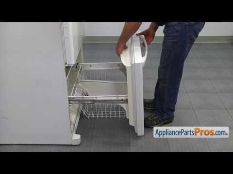 How To: Whirlpool/KitchenAid/Maytag Freezer Door Gasket W10443315
