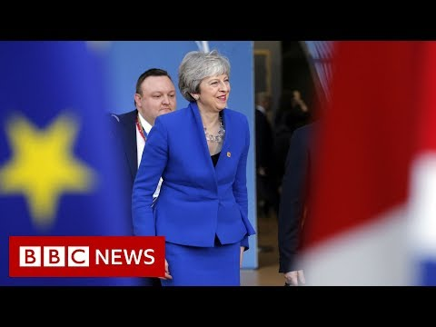 Theresa May: I regret need for Brexit delay - BBC News