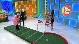 The Price Is Right - Perfect Putt!