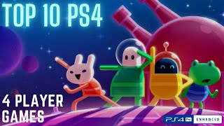 Top 10 4 Player Local Co-Op PS4 Games