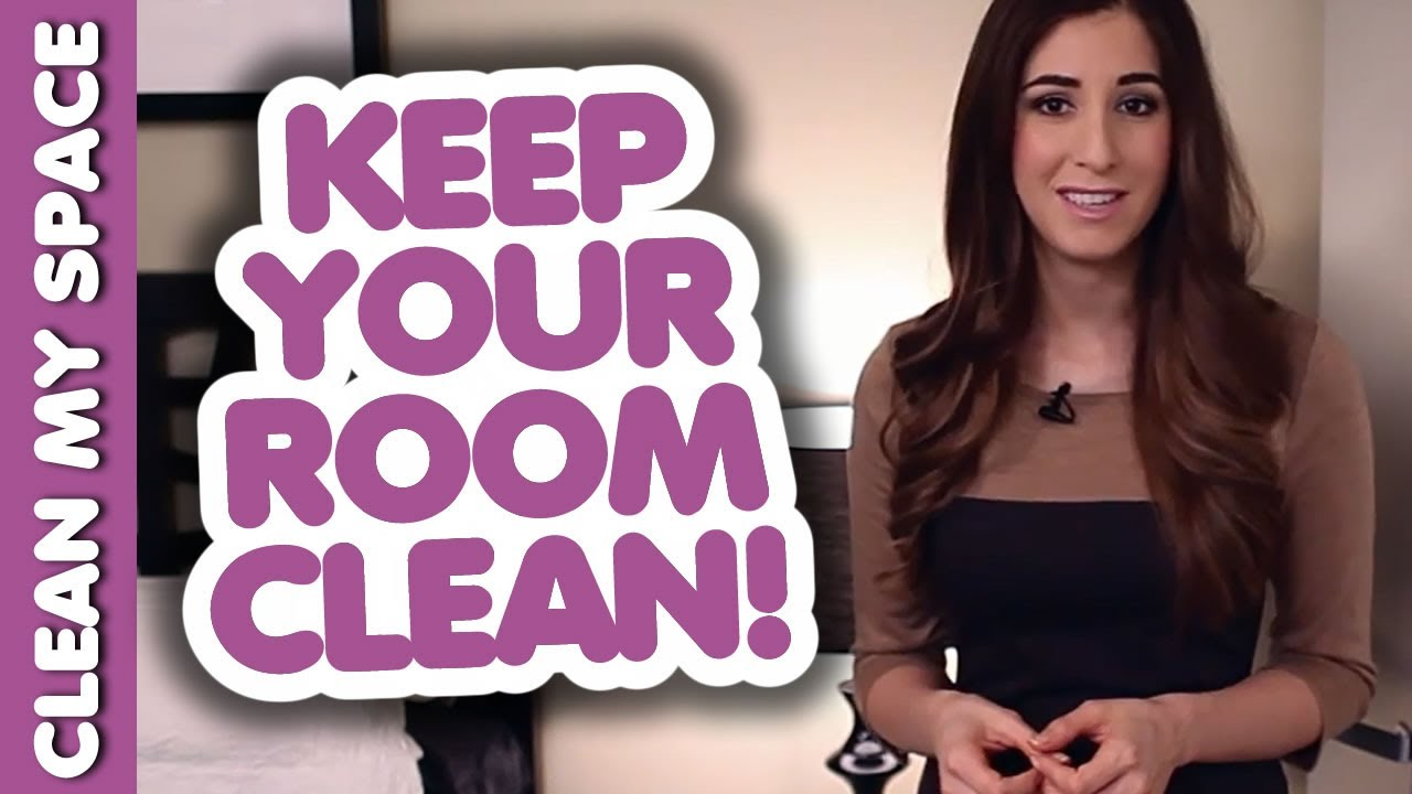 how to keep your room clean and organized how to clean your room clean my space youtube. Black Bedroom Furniture Sets. Home Design Ideas