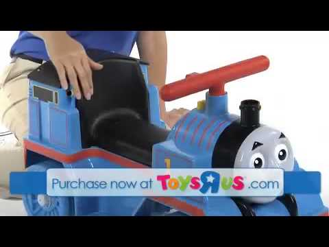 Power Wheels Fisher Price Thomas and Friends 6 Volt Ride On - YouTube