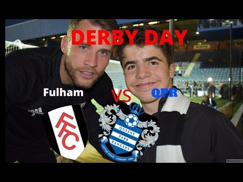 A Fulham Fans Guide to QPR away: DYL watches football n that EPISODE 1