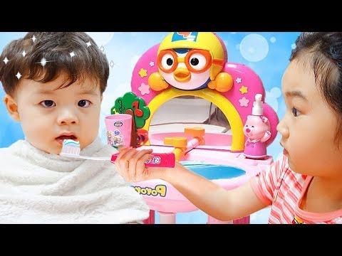 Boram Play with Pororo Toy