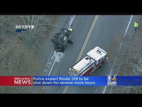 1 Dead, 2 Injured After Medfield Crash