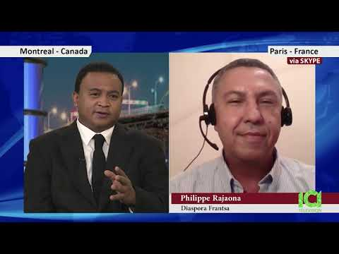 Madagascar Canada TV: Atoa Philippe Rajaona- Diaspora Malagasy ao Frantsa