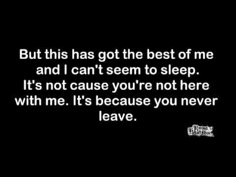 Bring Me The Horizon - It Never Ends (lyrics)