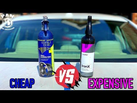 CHEAP vs EXPENSIVE : IRON REMOVERS !! (Eagle One VS CarPro)
