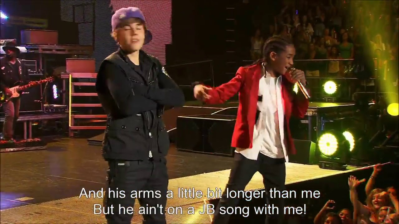Justin Bieber Never Say Never Madison Square Garden Ft Jaden Smith Youtube