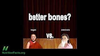 Zdraví kostí u dlouhodobých veganů
