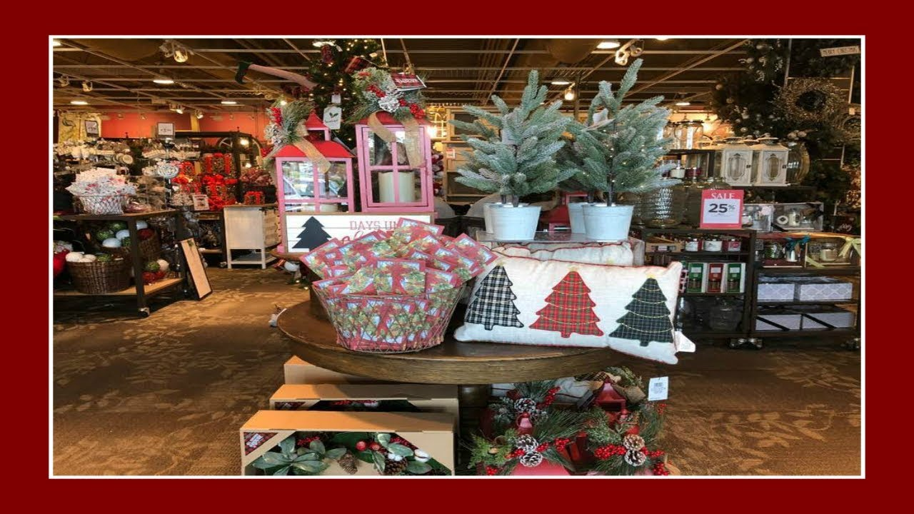Christmas Decor Shopping At Kirkland S Youtube