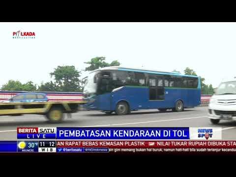 Mulai 12 Maret, Truk Dilarang Melintasi Tol Jakarta-Cikampek