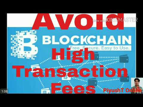 Avoid Blockchain High Transaction Fees : Use Coinpayment