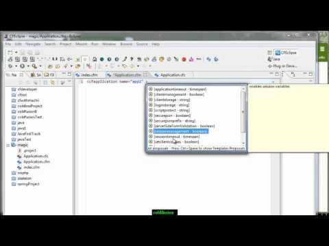 ColdFusion Video Tutorial : Application.cfm and Application.cfc (Part1)