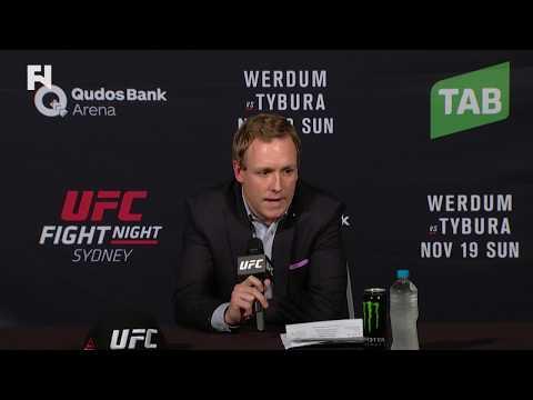 UFC Fight Night Sydney: David Shaw - Stars Aligning for Whittaker vs. GSP at UFC 221