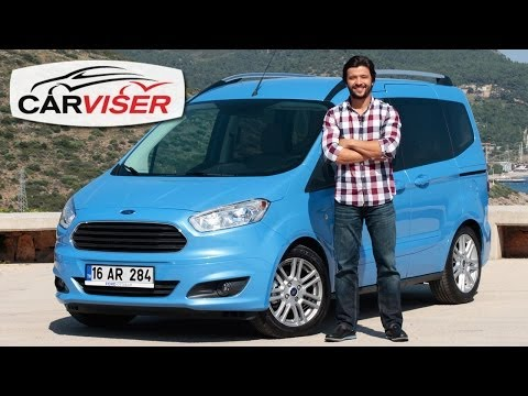 Ford Tourneo Courier Test Sr Review English subtitled