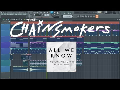 The Chainsmokers - All We Know (FL Studio Remake/Instrumental)