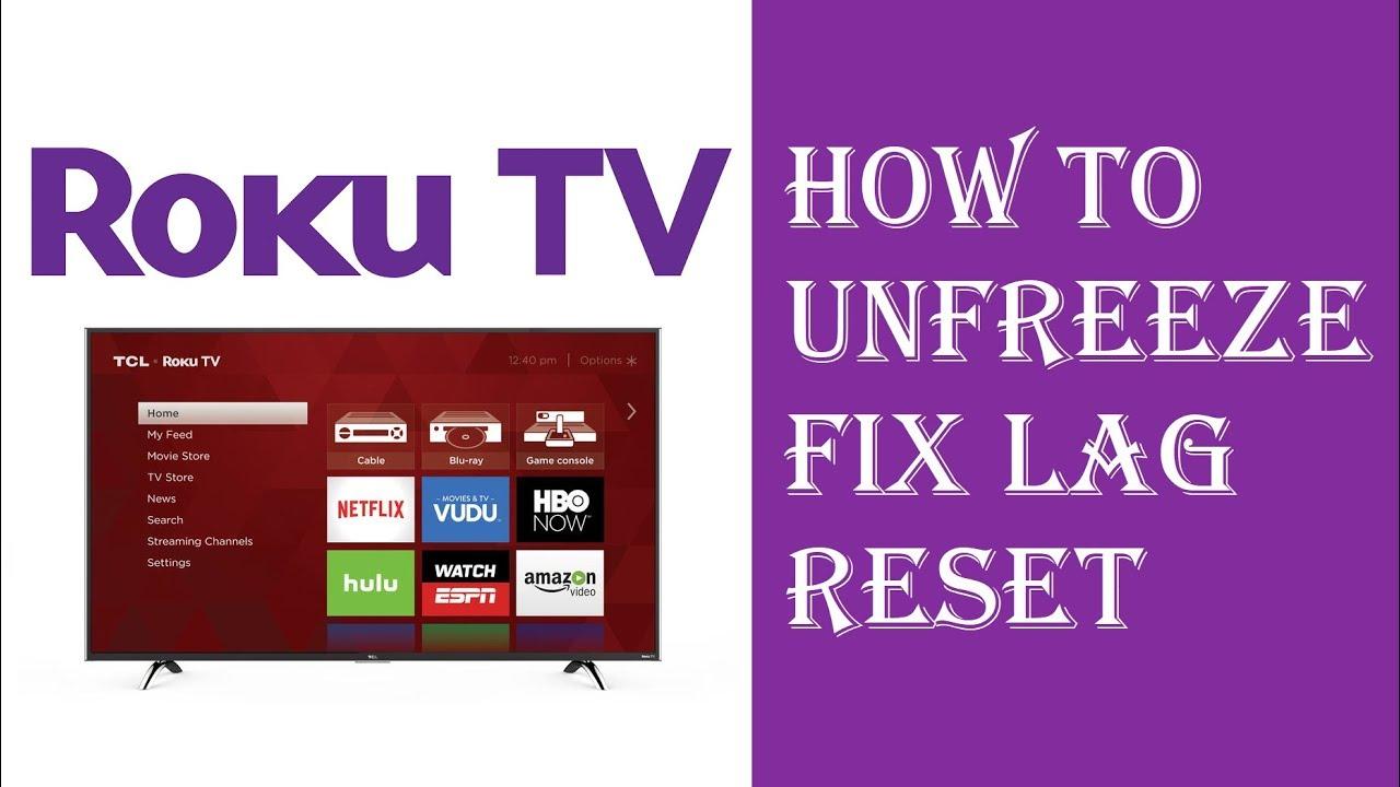 Roku TV Reset - Roku TV Frozen - Fix Roku TV - How to Reset Frozen Roku TV  or Roku Player