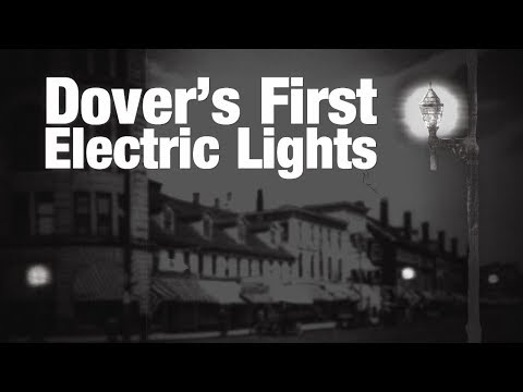 First Electric Street Lights