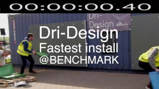 Dri-Design Fastest Install competition