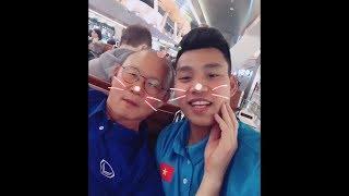 Tổng hợp khoảnh khắc hài hước của thầy Park Hang Seo và U23 Việt Nam