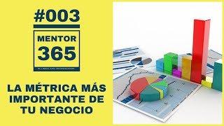 MENTOR365 #003 La Métrica Más Importante de Tu Negocio - Un Podcast de Libros para Emprendedores
