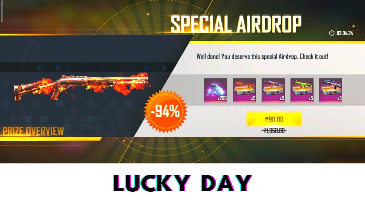LUCKY DAY ❤️ FREE FIRE 🙈