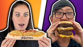 Only Eating NEW VIRAL Drive Thru Fast Food for 24 Hrs