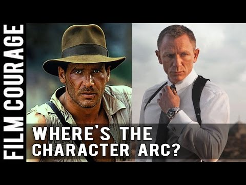 James Bond and Indiana Jones Don't Have Character Arcs by Michael Hauge
