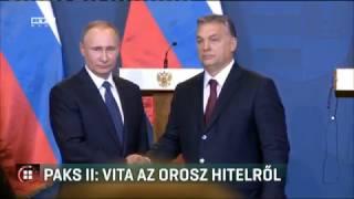Paks II: vita az orosz hitelről 2017-02-03