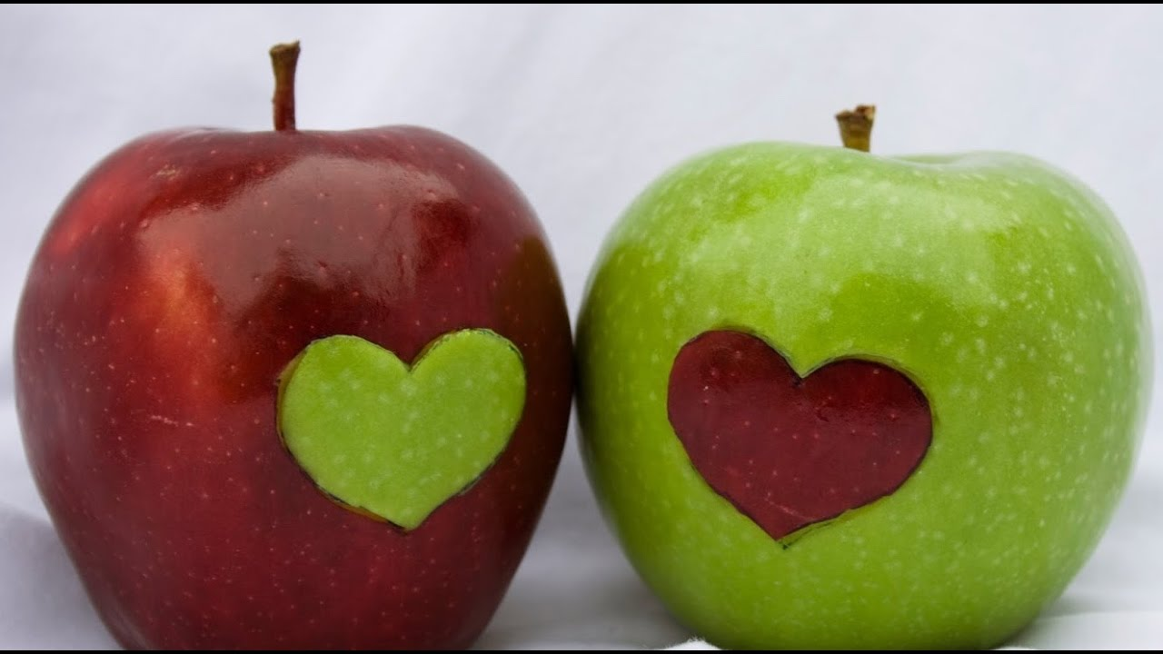 Manzana verde o roja? - Green or red apple?