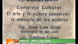 Vivo en Argentina - San Juan - Albardón - Teatro - 20-02-13