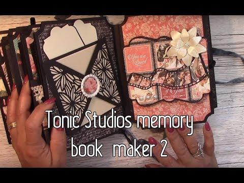 Tonic Memory Book Maker 2 Graphic 45 Mini Album
