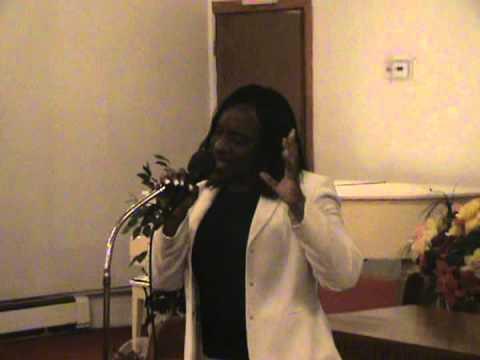 Bridgette Bovell performed: Amazing Grace. 10-22-11.