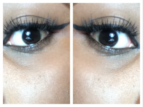 how to put false eyelashes on curly lashes