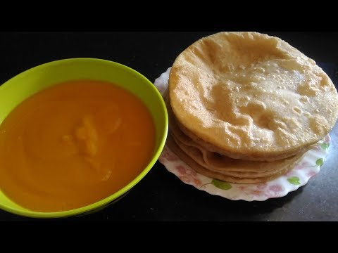 AAM  RAS WITH PURI RECIPE/EASY TO MAKE  /BY KOKAN SPECIAL NEW WAY TO ENJOY SUMMER SPECIAL MANGOES