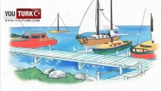 Caillou Türkce - Caillou nun Tekne Macerasi