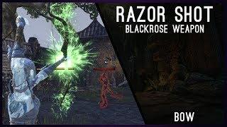 Razor Shot - Blackrose Weapon Bow