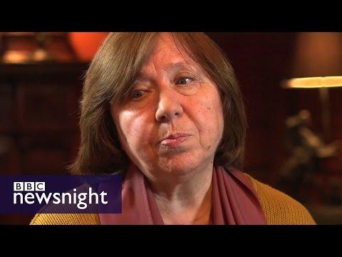 'The Soviet person remains': Nobel Prize winner Svetlana Alexievich - BBC Newsnight