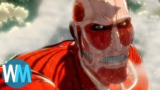 Top 10 Terrifying Giant Monsters in Anime