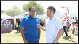 a moment with mr coskun aziz at the north cyprus turkish festival