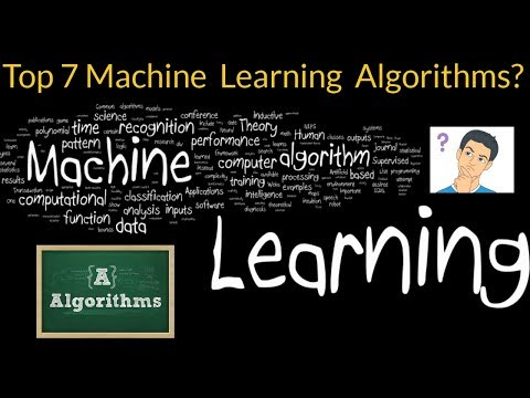 Top 7 Machine Learning Algorithms Every Beginner Should Know #MachineLearning #Algorithms #beginner