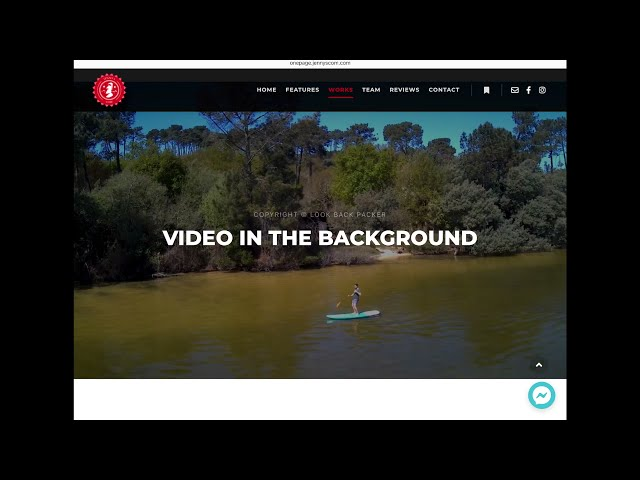 OnePage Template - Navigation