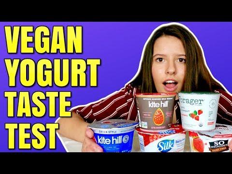 Vegan Yogurt Taste Test / Non Dairy Yogurt Review