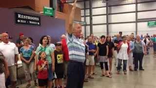 Mennonite Flash Mob singing #606 from the Mennonite Hymnal