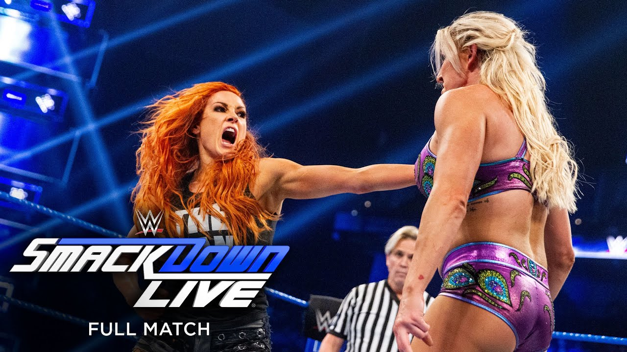 FULL MATCH - Lynch vs. Flair vs. Carmella – Triple Threat Match: SmackDown LIVE, Jan. 8, 2019