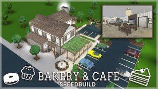 Roblox Bloxburg | Bakery & Cafe Speedbuild