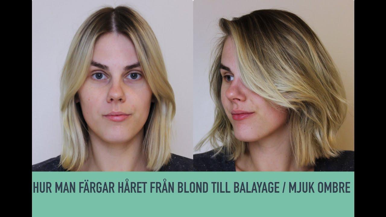 tona håret blondare