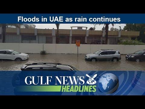 Floods in UAE as rain continues - GN Headlines