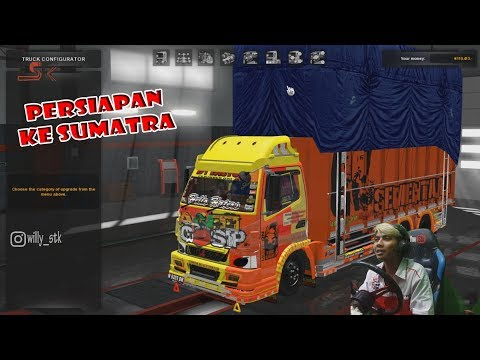 Test Steering homemade Euro Truck Simulator 2